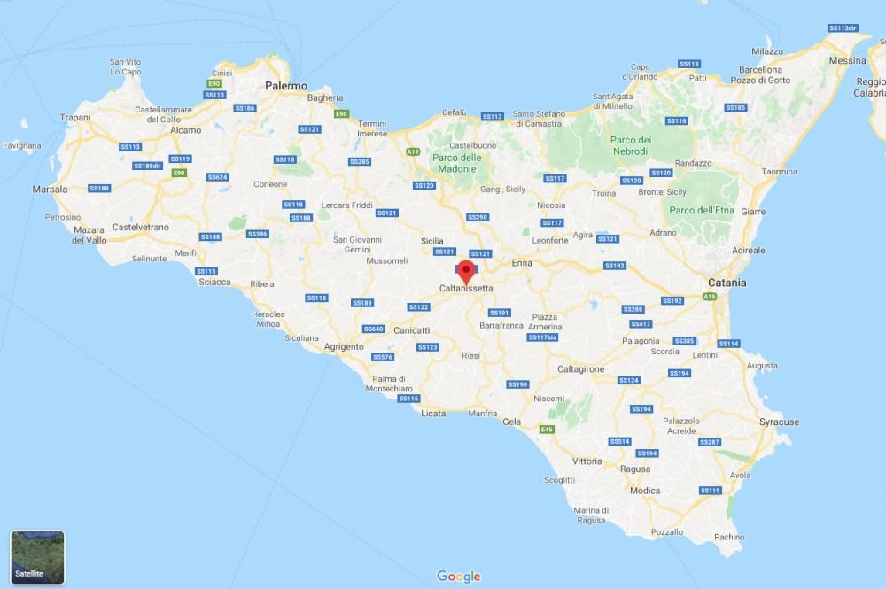 Map-Caltanissetta