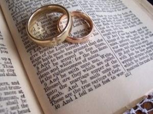 mariage bagues bible