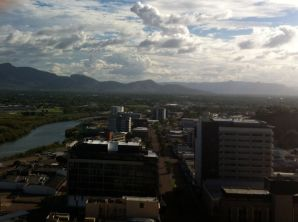 View from the Holiday Inn