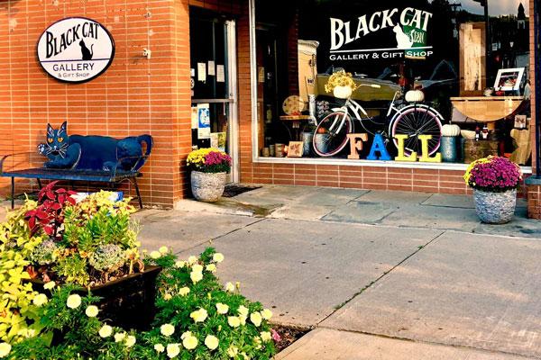 Black-Cat-Gallery-Owego-Tioga-County-NY-Storefront