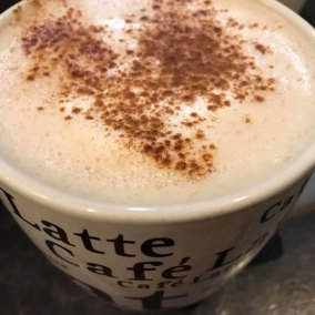 Carol's Coffee and Art Bar Latte