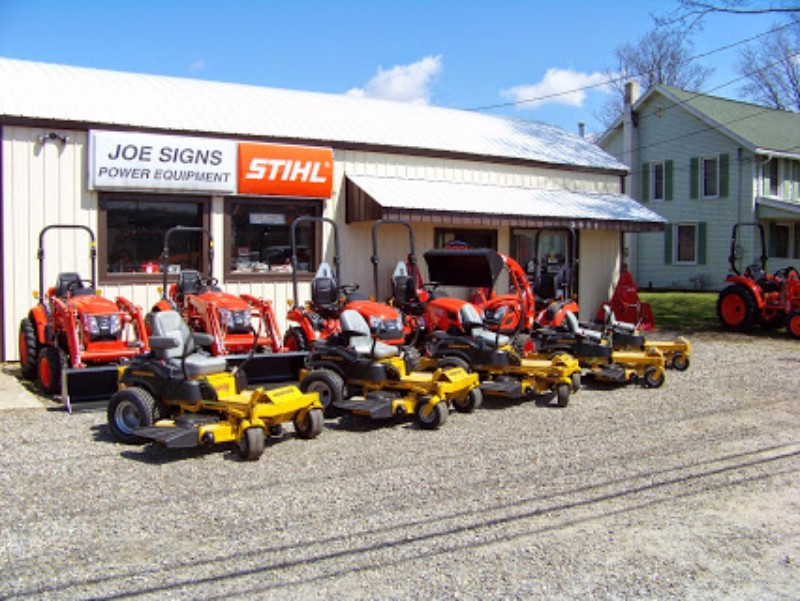 Joe Sign's Power Equipment and Boat Center