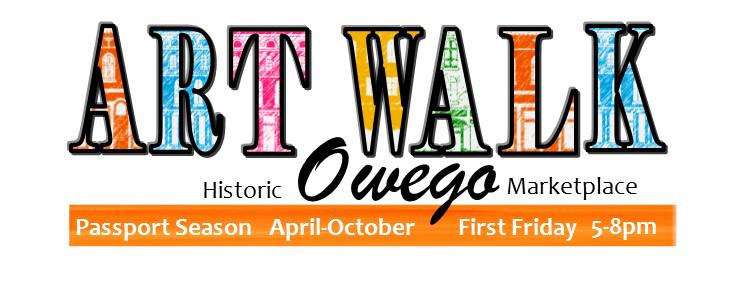 Owego Art Walk Logo