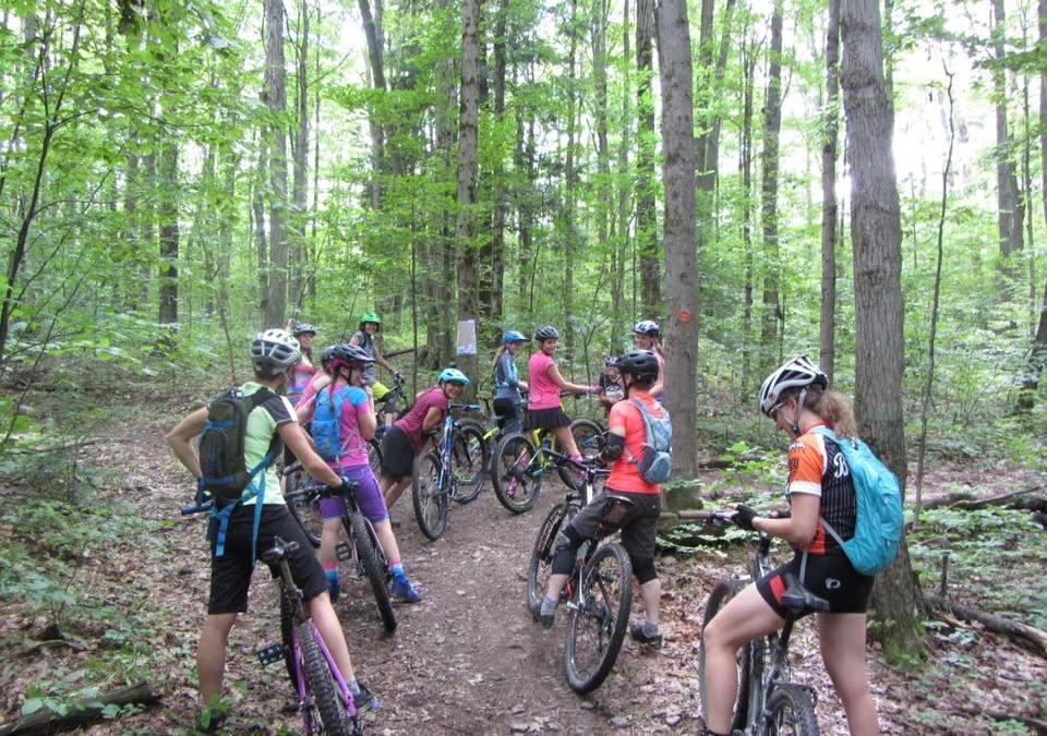 Mountain Biking in Tioga County