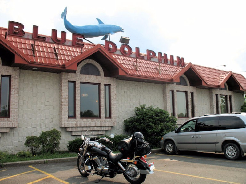 The Blue Dolphin Restaurant