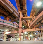 Hakozaki Junction : A complex web of highway construction