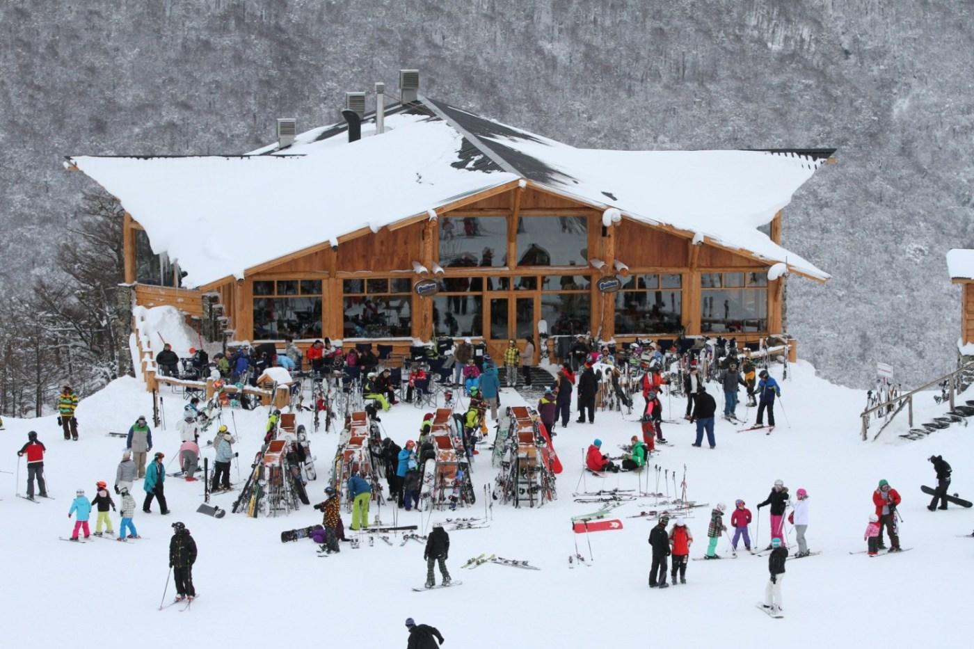 Centro de esquí en Ushuaia