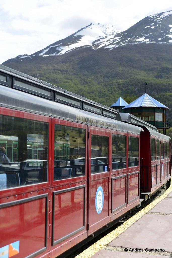 El Tren del fin del mundo en Ushuaia.