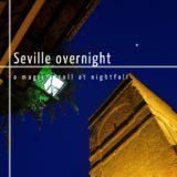 Tour through Sevilla at night