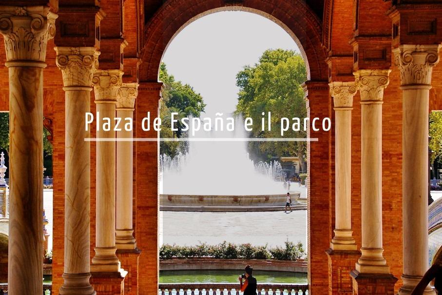 Tour per la Piazza di Spagna di Siviglia in italiano