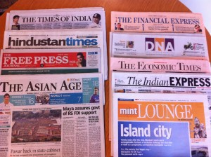 Contrary to the media landscape in much of the west, Indian publications are seeing increased readership.