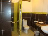 bathroom in the jungle