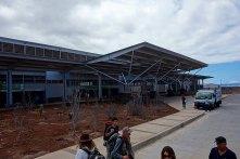 terminal building at Balta