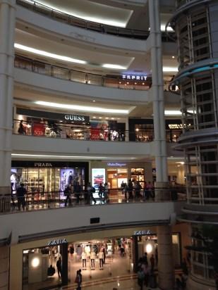 Seven floors of shopping