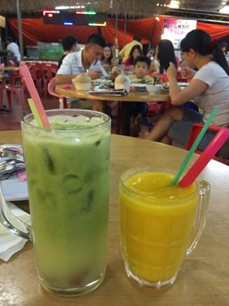large juice drnks