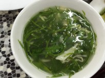 soup with greens