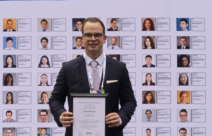 RSNA Research Trainee Prize 2018