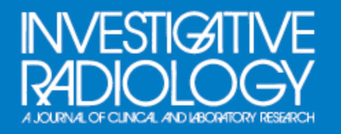 Top 25 Papers in Investigative Radiology 2016