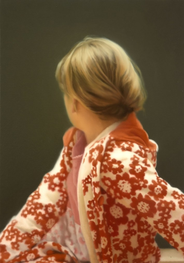 Gerhard Richter Betty Oil on Canvas 102 cm x 72 cm 1988