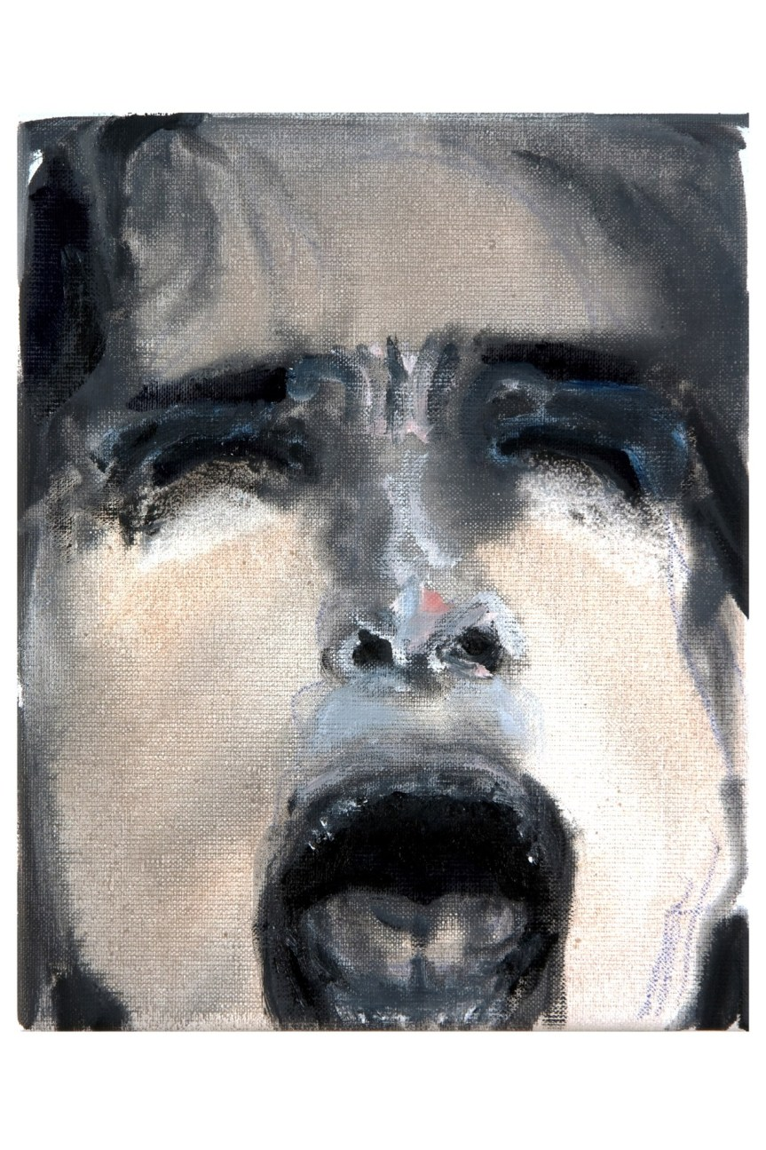 Marlene Dumas Momma Roma oil on canvas 2012