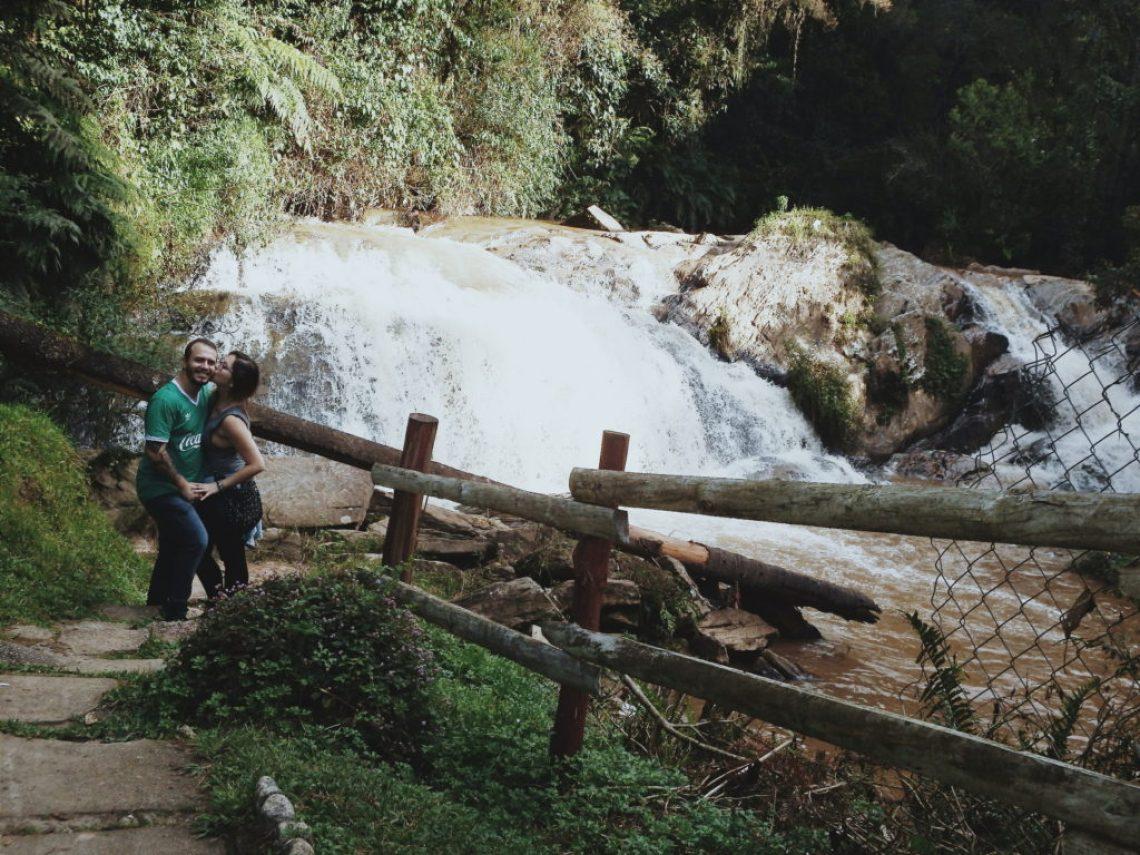 Cachoeira Véu da Noiva em Campos do Jordão Foto: ExperiMenteSP