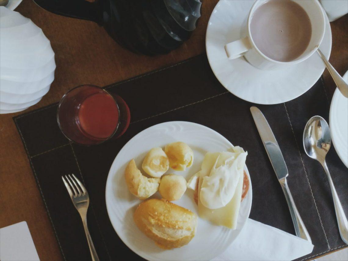 Café da manhã Carballo Hotel