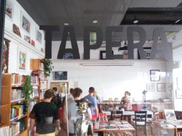 Livraria Tapera Taperá na Galeria Metrópole Foto: ExperiMenteSP