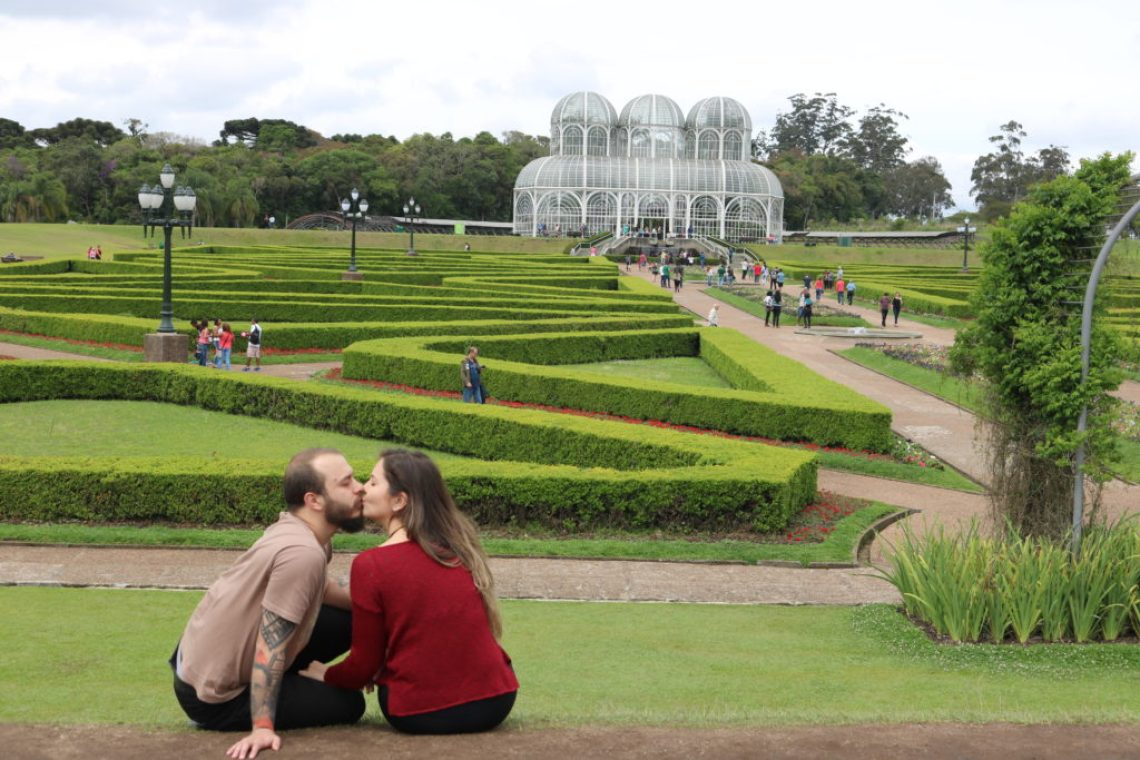 Jardim Botânico de Curitiba - Foto: ExperiMenteSP