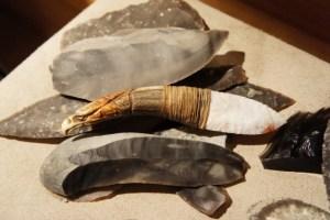 Foto von Steinwerkzeug