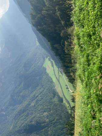 Logar valley from above