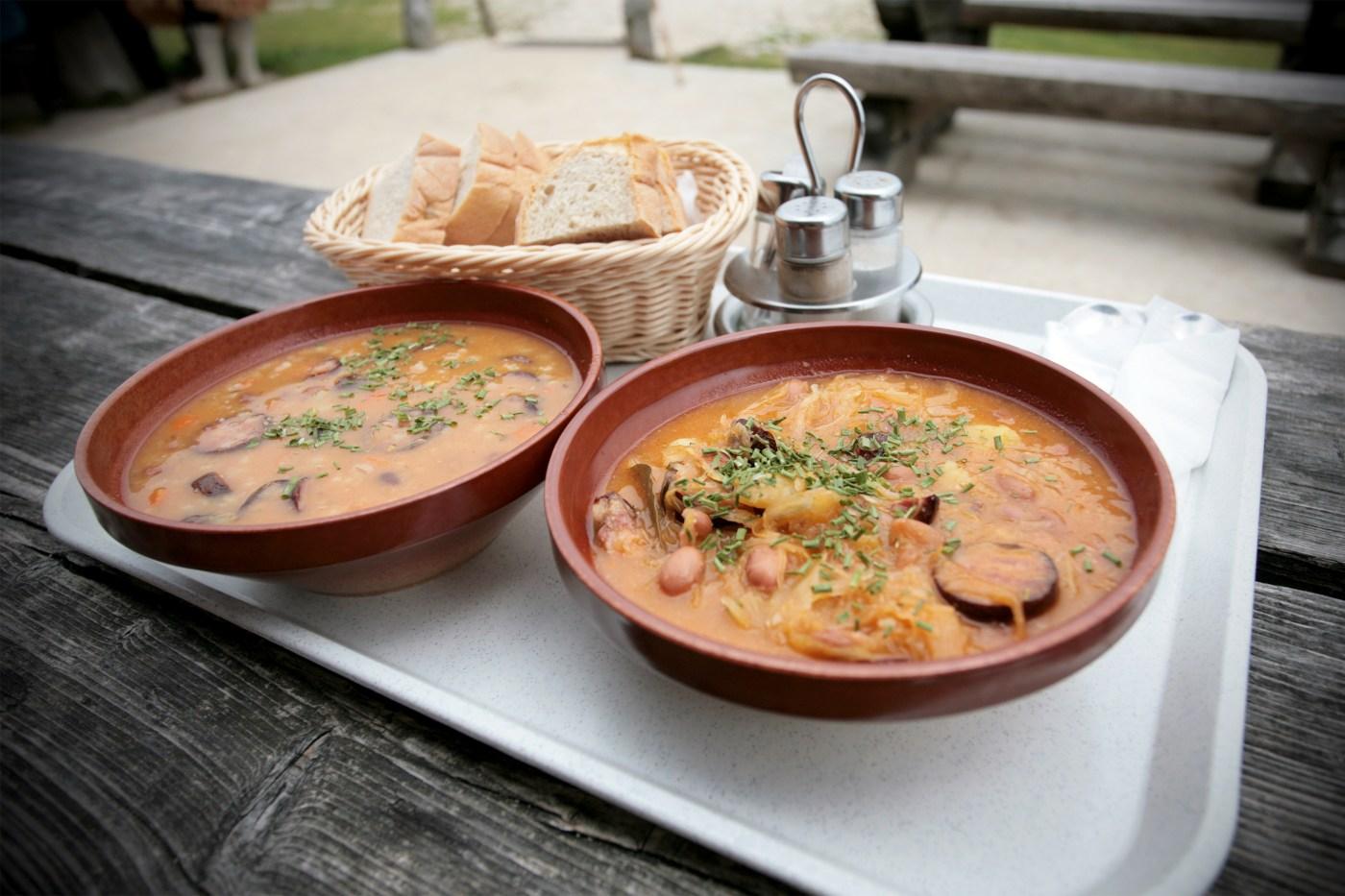 Slovene soup, traditional