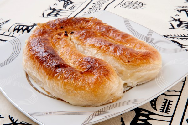 Filled pastry. burek