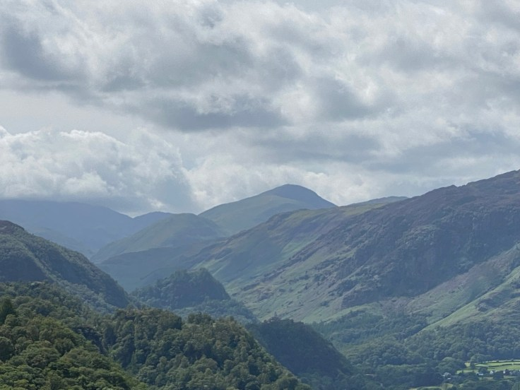 Great Gable from Walla Crag