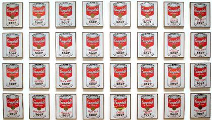 Campbell's condensed Warhol