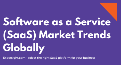 Top Software as a Service (SaaS) Market Trends Globally 2021 to 2025