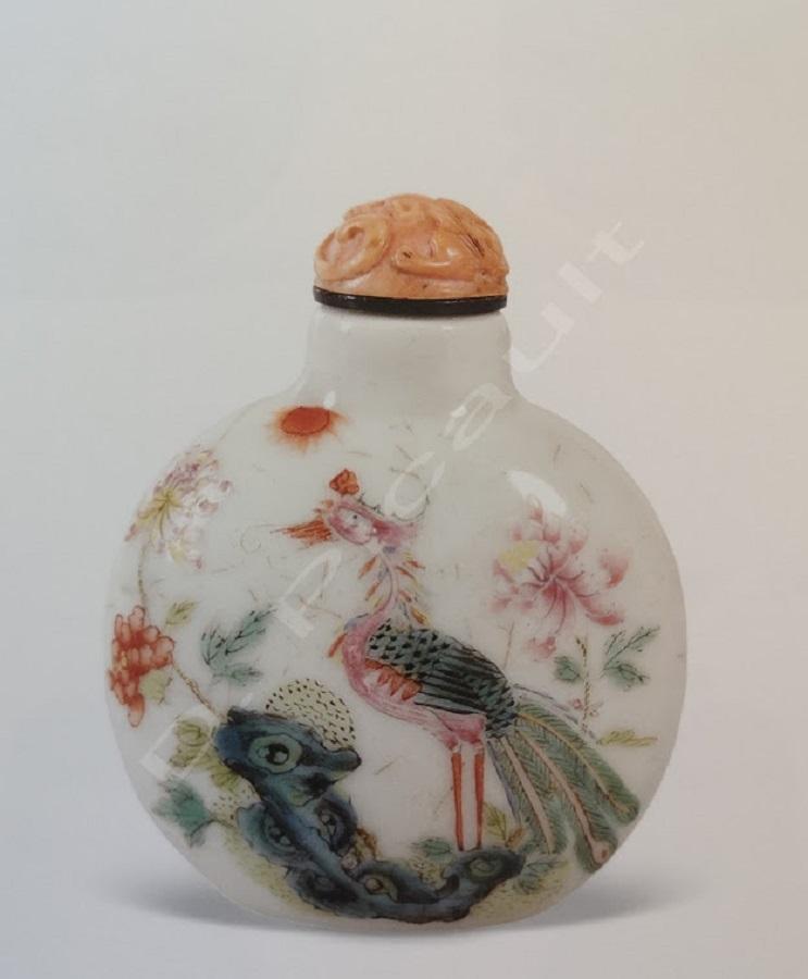 Tabatière de l'époque Qinq (1644-1912)