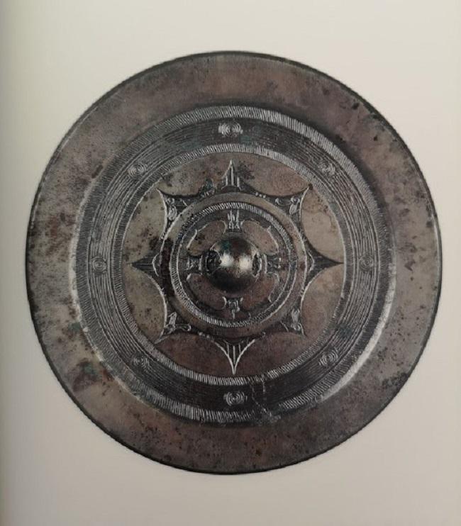 Miroir ancien en bronze de la Dynastie des Han