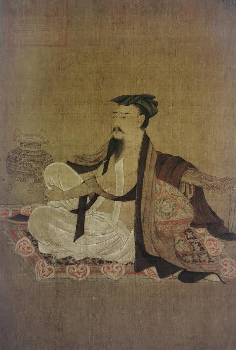 Peinture homme chinois