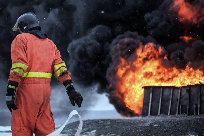 Assurance multirisques habitation : incendie domestique à Toulon.