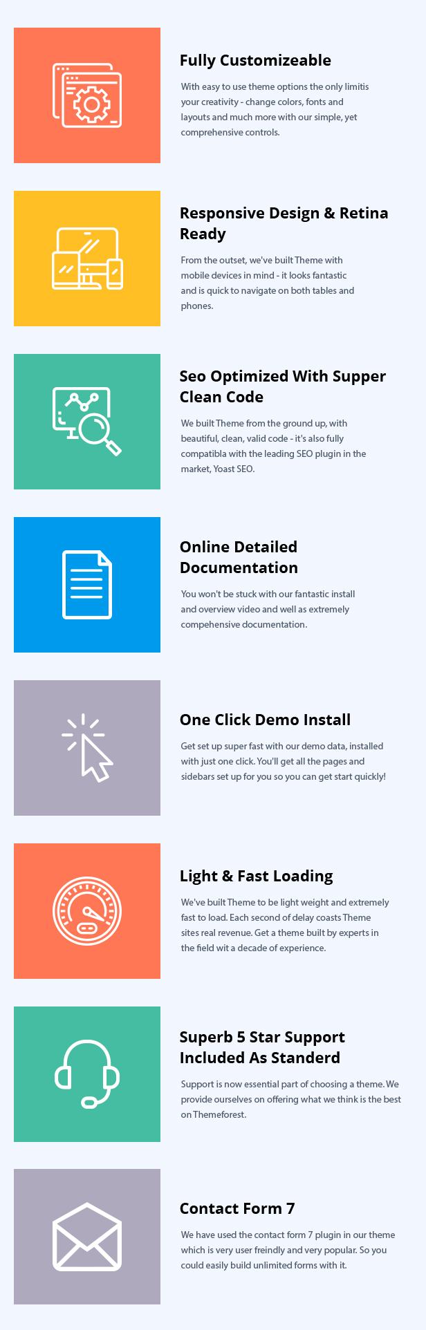 Meto | SEO & Marketing WordPress Theme - 7