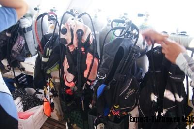 Погружение с аквалангом в Хургаде