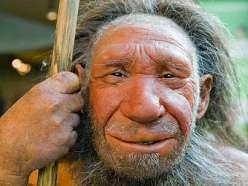 Примерно так выглядели неандертальцы