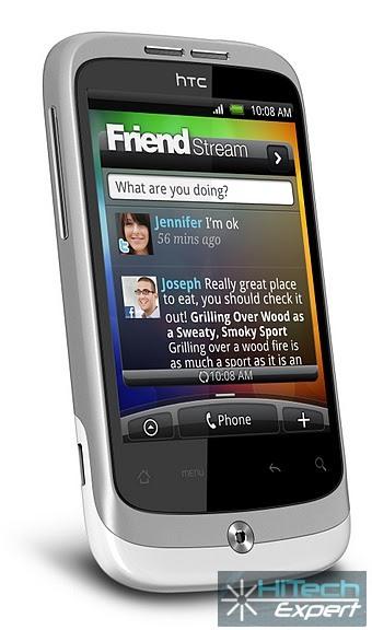 НТС Wildfire - новый Android-смартфон с Sense-интерфейсом