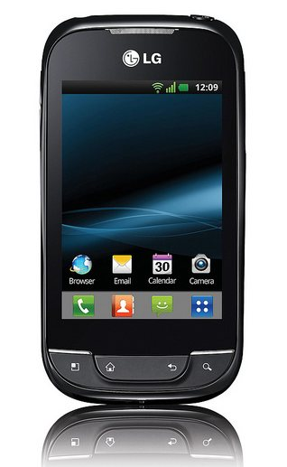 LG Optimus Net на Android 2.3