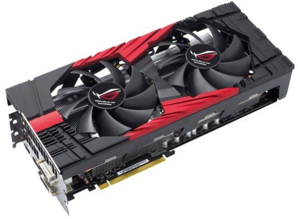 видеокарта ASUS с двумя графическими процессорами GeForce GTX 580