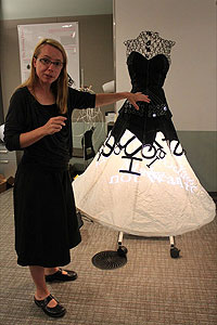 Печатающее платье от Microsoft