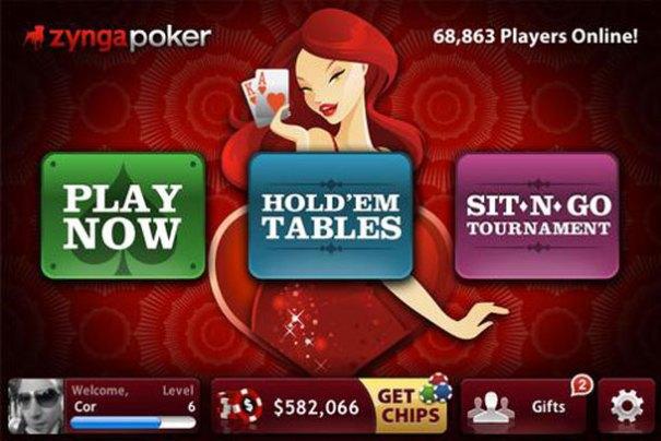 Zynga Poker для iPhone