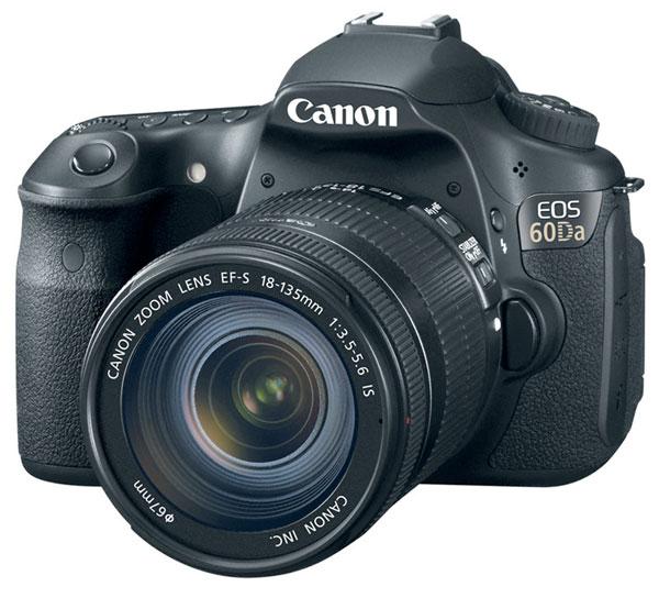 Canon EOS 60Da снимает звездное небо