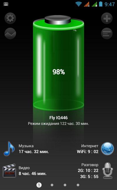 батарея Fly Magic IQ446