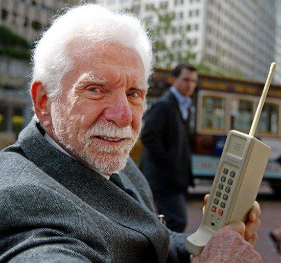 мартин купер и первый мобильный телефон